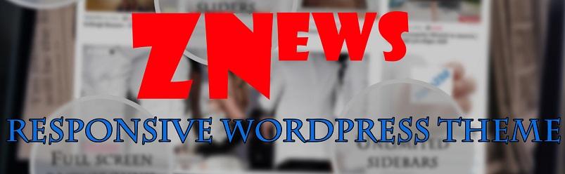 Готовая тема для WordPress — ZNews