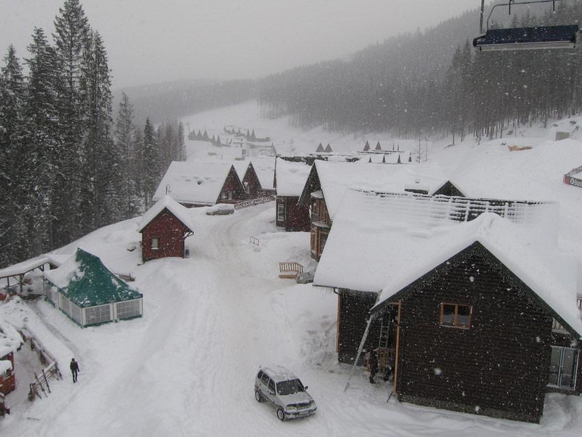 Украина зимой
