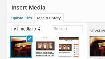 Працюємо з завантажуваними зображеннями в WordPress
