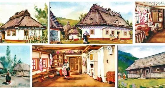 Историческая Украина – архитектура жилья
