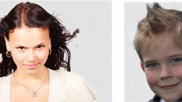 Як вирізати волосся з фону зображення в Фотошоп