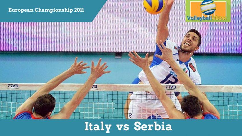 Волейбол. Лучшие игры: Италия vs Сербия