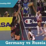 Женский волейбол. Лучшие игры. Германия vs Россия