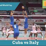 Обзор матча Куба vs Италия на Кубке Мира 2011
