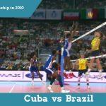 Волейбол. Лучшие игры. Куба — Бразилия. 2010