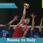 Росія vs Італія | 2013 CEV Чемпіонат Європи з Волейболу