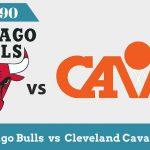 Чикаго vs Кливленд | НБА 1990 — Основные моменты