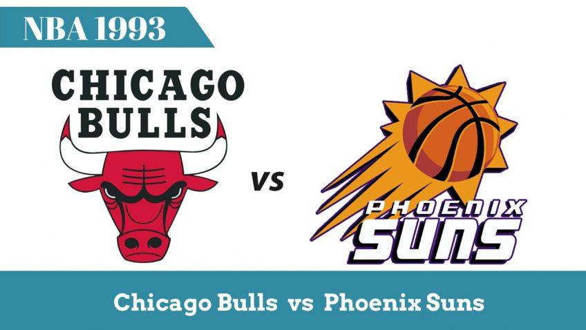 Чикаго vs Финикс | Финалы НБА 1993