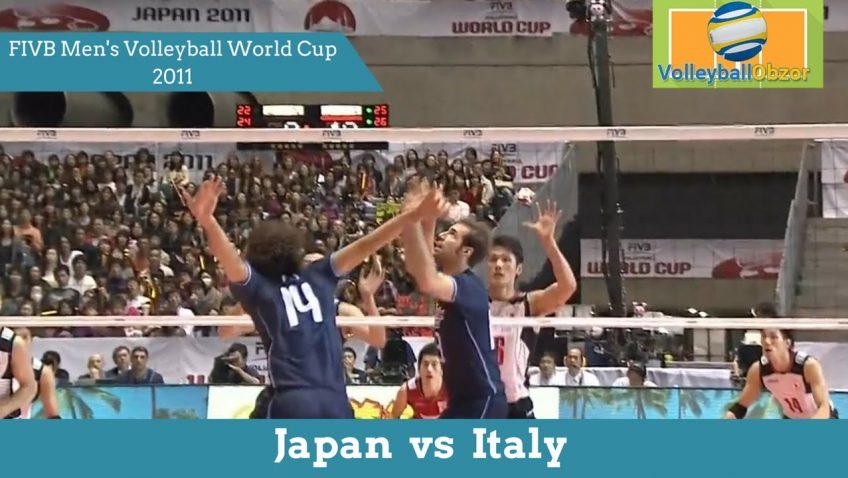 Обзор матча Япония vs Италия на Кубке Мира 2011