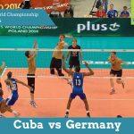 Куба vs Німеччина | Чемпіонат Світу з волейболу 2014