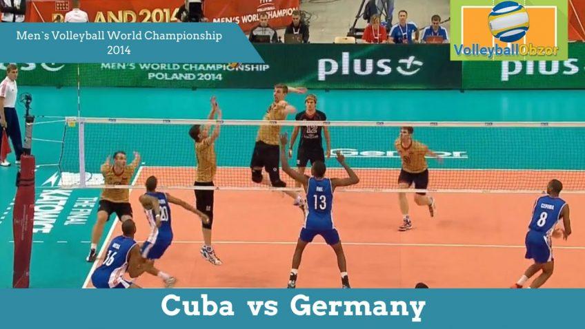 Куба vs Германия | Чемпионат Мира по волейболу 2014