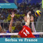 Сербія vs Франція | Фінал чемпіонату світу ФІВБ 2015