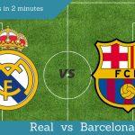 Лучшие матчи за 2 минуты | Реал vs Барселона 23.01.2014