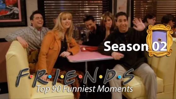 Серіал Друзі | ТОП 90 жартів 2-го сезону