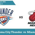 Тандер vs Хит | Финалы НБА 2012 — Игра 5