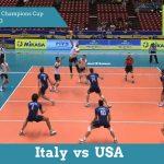 Италия vs США | FIVB Всемирный чемпионский кубок 2013