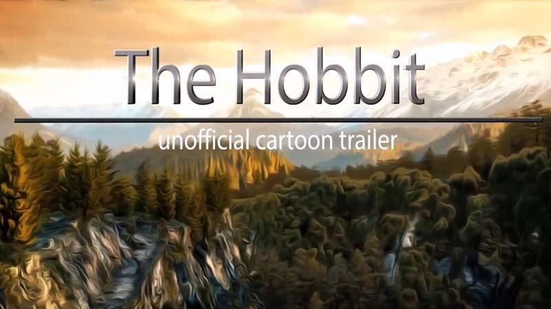 Хоббит — Трилогия — Неофициальный Анимационный Трейлер [HD]