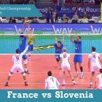 Франция vs Словения | CEV Чемпионат Европы по Волейболу 2015