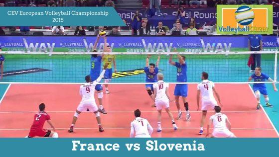 Франція vs Словенія | CEV Чемпіонат Європи з Волейболу 2015