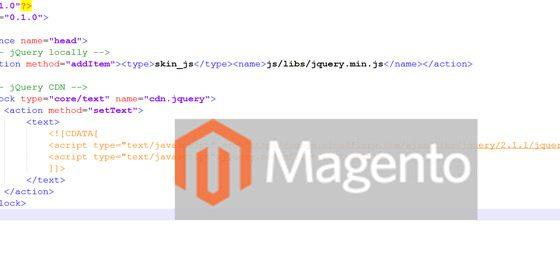 Основы Magento – файлы макета