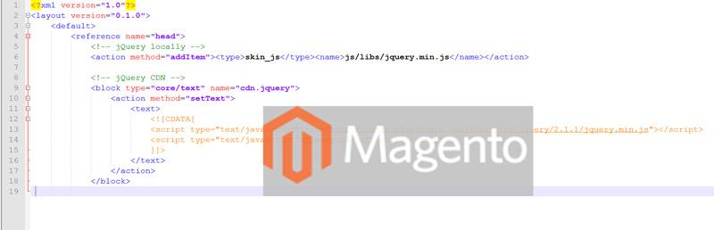 Основи Magento – файли макету