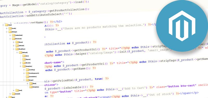 Основи Magento – файли шаблону