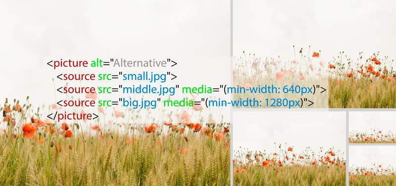 Прийоми досягнення адаптивності картинок на респонсивному сайті