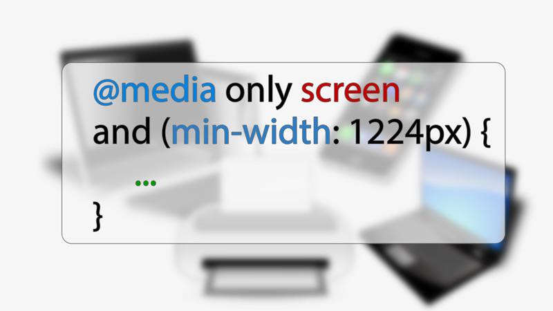Медиа-запросы в CSS для респонсивного дизайна
