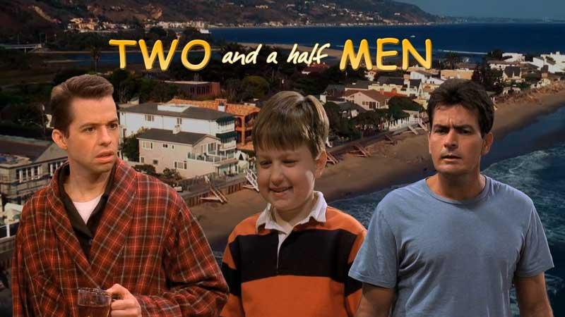 Два с половиной человека — Лучшие смешные моменты сериала (сезоны 1-4)