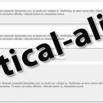Основные способы вертикального выравнивания элементов в CSS
