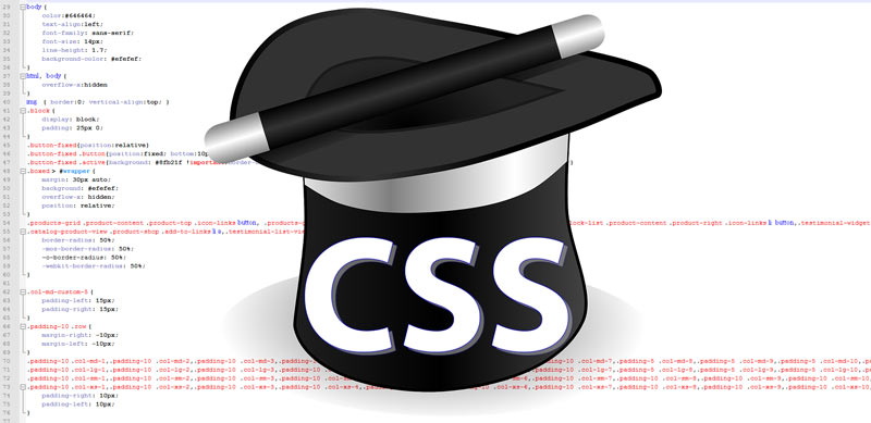 Основные трюки CSS стилей для начинающих вебмастеров