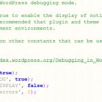 Простой способ отладки сайта на WordPress