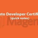 Контрольные заметки для сертификационного экзамена Мадженто-разработчика – ч.1