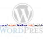 Как удалить номер версии WordPress из исходного кода