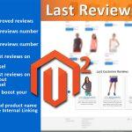 Модуль Последние Отзывы для Magento 2