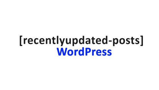 Как показывать посты в WordPress по дате их обновления