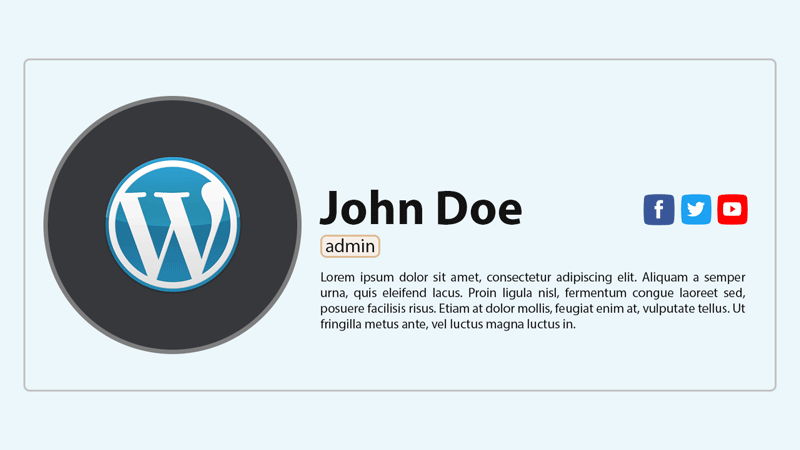 Как добавить блок с информацией об авторе поста в WordPress