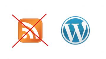 Як відключити RSS-канали в WordPress