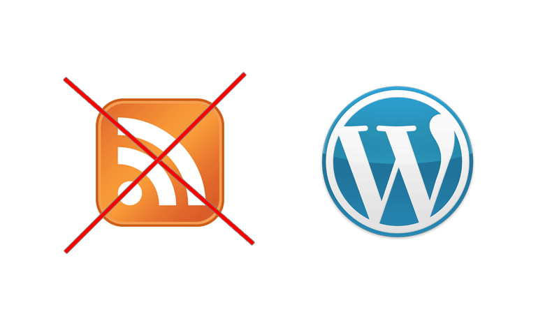 Как отключить RSS-каналы в WordPress