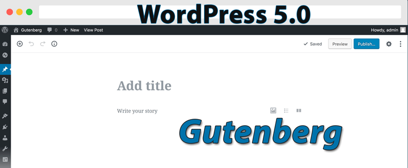 Новий випуск WordPress 5.0 Bebo та редактор Gutenberg