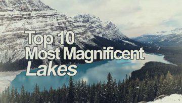 Красивые места планеты | ТОП-10 Самых Красивых Озер
