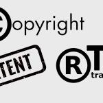Разница между авторскими правами, торговой маркой и патентом