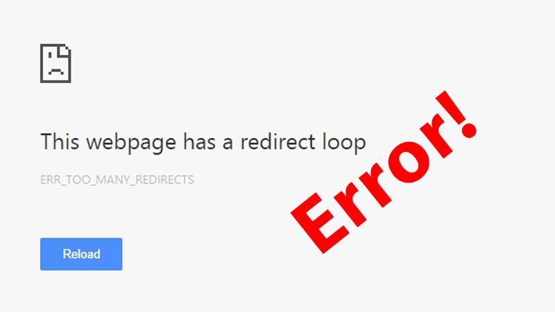 Как исправить ошибку Слишком много перенаправлений в браузере