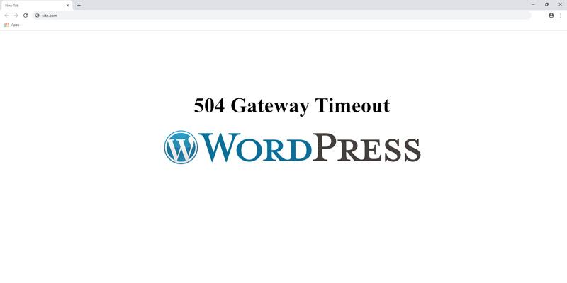 Як виправити помилку 504 Gateway Timeout в WordPress