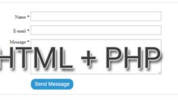 Как использовать HTML формы в PHP