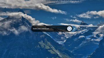 Как сделать красивую анимированную кнопку Поиск с CSS3 и jQuery